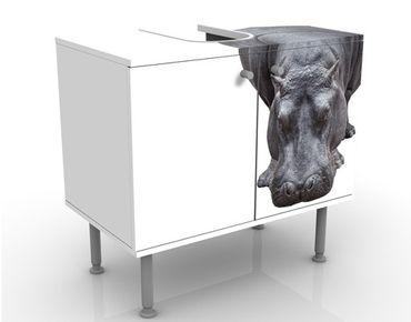 Mobile per lavabo design Hippo