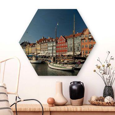 Esagono in legno - Porto di Copenhagen
