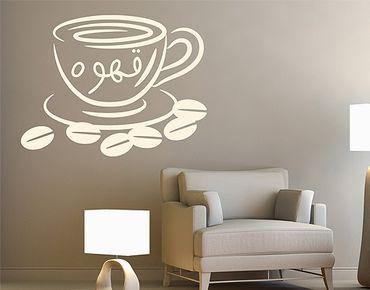 Adesivo murale no.1424 Coffee 3