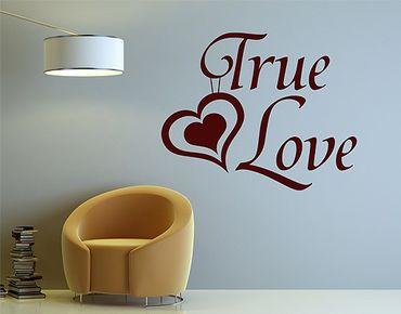 Adesivo murale no.1430 True Love