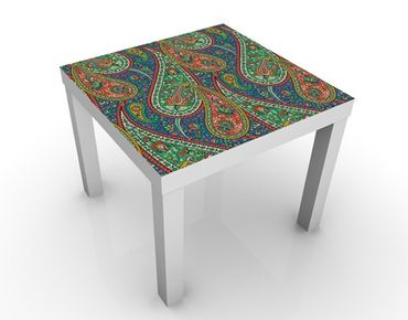 Tavolino design Filigree Paisley Design
