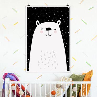 Poster - Zoo con i modelli - Polar Bear - Verticale 3:2