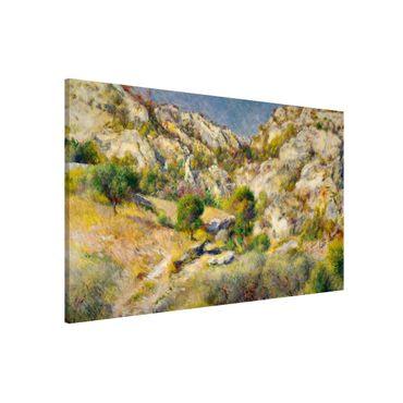 Lavagna magnetica - Auguste Renoir - Rock In Estaque - Formato orizzontale 3:2