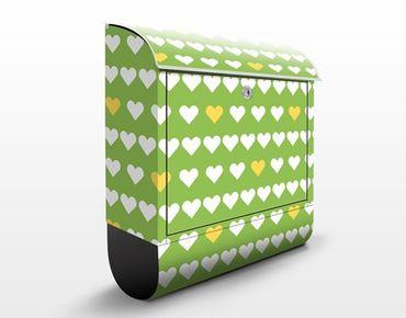 Cassetta postale Young Love Pattern Design 39x46x13cm