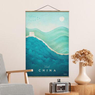 Foto su tessuto da parete con bastone - Poster di viaggio - Cina - Verticale 3:2