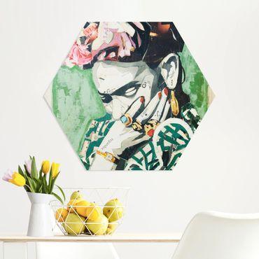 Esagono in forex - Frida Kahlo - Collage No.3