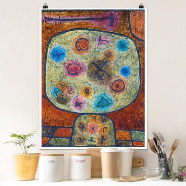 Poster - Paul Klee - Fiore In Pietra - Verticale 4:3