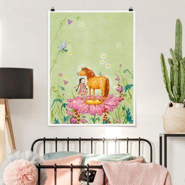 Poster - The Magic Pony Sul Fiore - Verticale 4:3