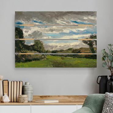 Stampa su legno - Vincent Van Gogh - tra le dune - Orizzontale 2:3