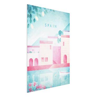 Stampa su Forex - Poster di viaggio - Spagna - Verticale 4:3