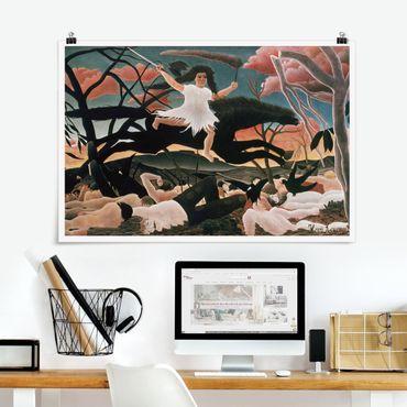 Poster - Henri Rousseau - La guerra della discordia - Orizzontale 2:3