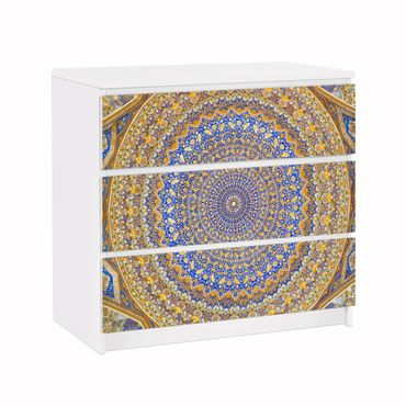 Carta adesiva per mobili IKEA - Malm Cassettiera 3xCassetti - Dome of the Mosque