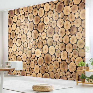 Tende scorrevoli set - Homey Firewood