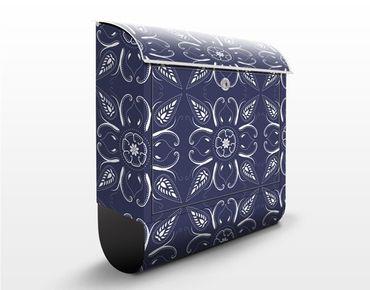 Cassetta postale Blue Bandhana 39x46x13cm