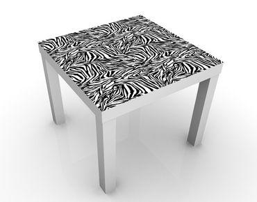 Tavolino design Zebra Pattern Design