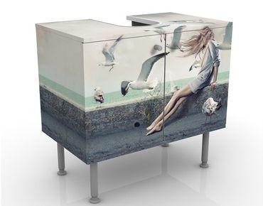 Mobile per lavabo design Coffee At The Seaside