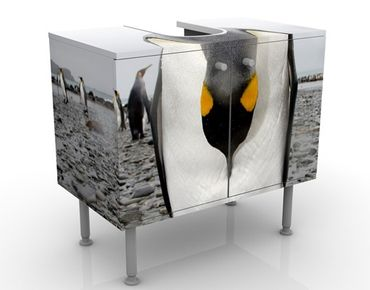 Mobile per lavabo design Penguin