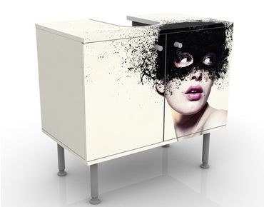 Mobile per lavabo design The Girl With The Black Mask