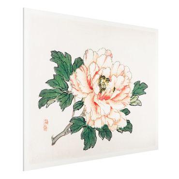 Stampa su Forex - Asian Vintage Disegno rosa crisantemo - Orizzontale 3:4