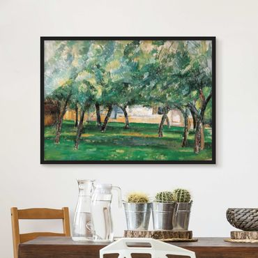 Poster con cornice - Paul Cézanne - Farm Normandy - Orizzontale 3:4