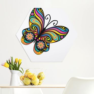 Esagono in forex - No.Bp22 Mandala farfalla