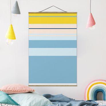 Foto su tessuto da parete con bastone - Film Poster Cinderella - Verticale 3:2
