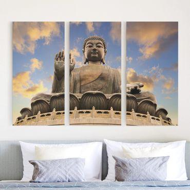 Stampa su tela 3 parti - Big Buddha - Verticale 2:1