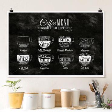 Poster - caffè Lavagna - Orizzontale 2:3