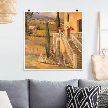 Poster - Campagna italiana - Porch - Quadrato 1:1