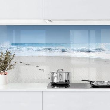 Rivestimento cucina - Orme Nella Sabbia