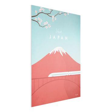 Stampa su Forex - Poster Viaggio - Giappone - Verticale 4:3