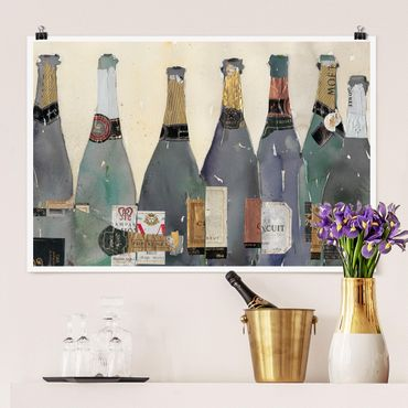 Poster - Uncorked - Champagne - Orizzontale 2:3