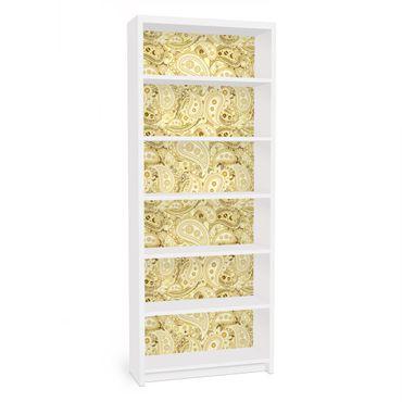 Carta adesiva per mobili IKEA - Billy Libreria - Retro Paisley