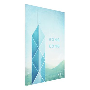 Stampa su Forex - Poster Travel - Hong Kong - Verticale 4:3