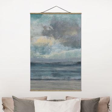 Foto su tessuto da parete con bastone - Ingresso spiaggia I - Verticale 3:2