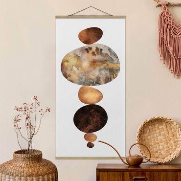 Foto su tessuto da parete con bastone - Elisabeth Fredriksson - L'oro del bilanciamento del bianco - Verticale 2:1