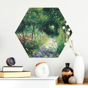 Esagono in Alluminio Dibond - Auguste Renoir - Women In The Garden