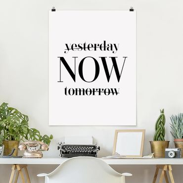 Poster - Ieri Ora Domani - Verticale 4:3