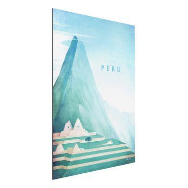 Stampa su alluminio - Poster di viaggio - Perù - Verticale 4:3