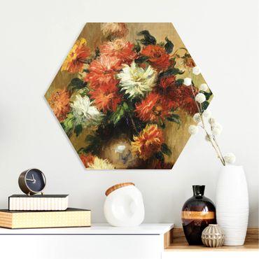Esagono in forex - Auguste Renoir - Natura morta con dalie