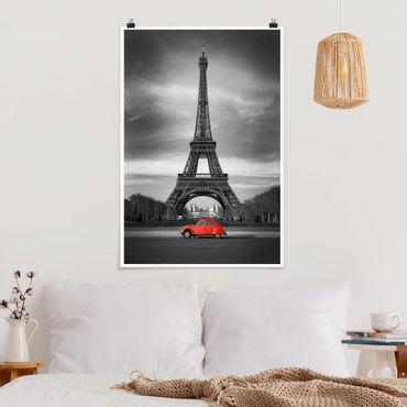 Poster - Spot On Paris - Verticale 3:2