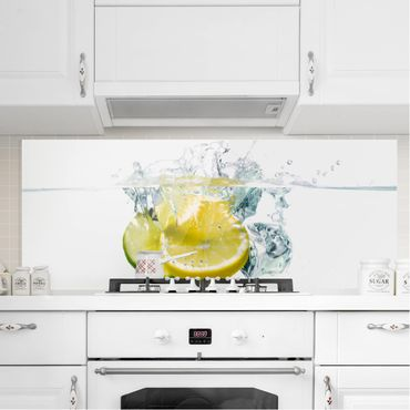 Paraschizzi in vetro - Lemon And Lime In Water