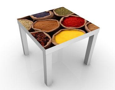 Tavolino design Colourful Spices