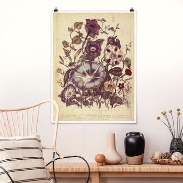 Poster - Bouquet di memoria Vintage - Verticale 4:3