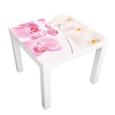 Carta adesiva per mobili IKEA - Lack Tavolino Delicate Orchids