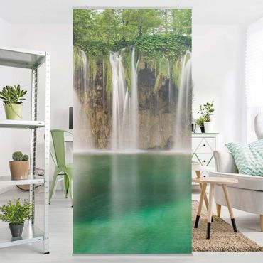 Tenda a pannello - Waterfall Plitvice Lakes 250x120cm