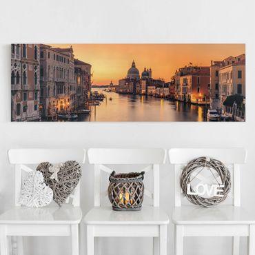 Stampa su tela - d'oro Venezia - Panoramico