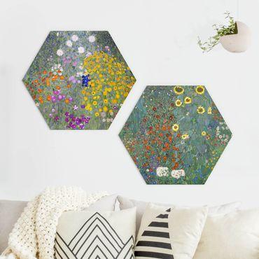 Esagono in forex - Gustav Klimt - The Green Garden