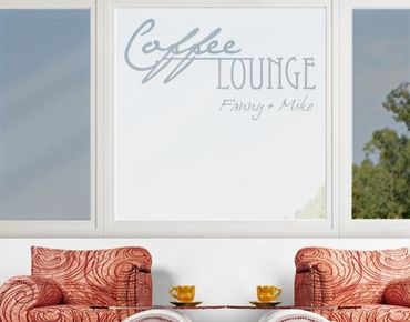 Pellicole per vetri - no.CA27 Your Own Words Coffee Lounge II