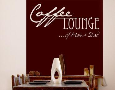 Adesivo murale no.CA27 Your Own Words Coffee Lounge II